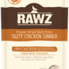 rawz freeze dried dog food chicken