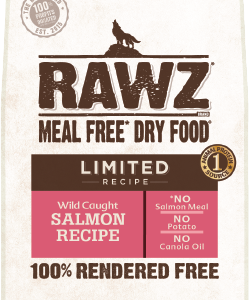Rawz limited recipe kibble dry food