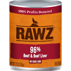 rawz wet dog food